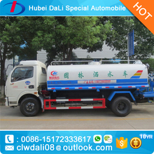 Water tank truck (stainless steel) with spray bar dongfeng 153