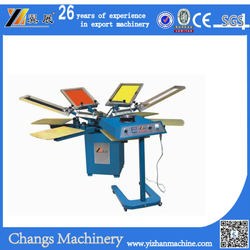 SPM450 High Quality Manual Tshirt Silk Screen Printing Machine