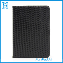 Flip leather case for ipad 5 Air cover
