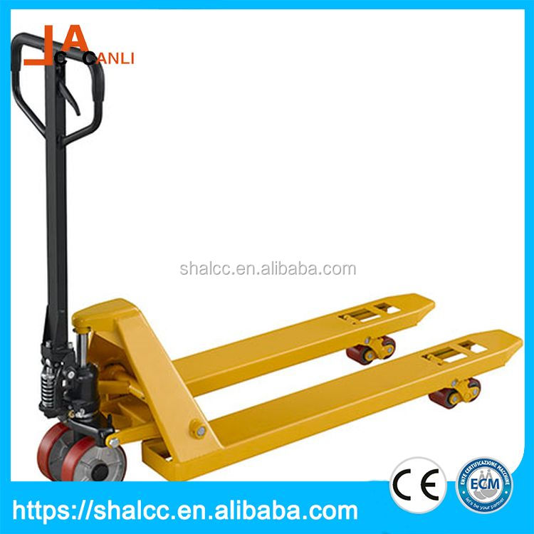 Low price automatic forklift manual pallet stacker truck