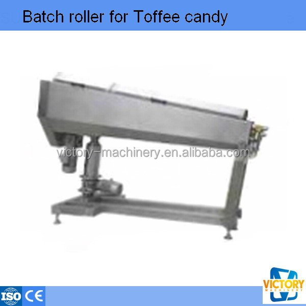 Heat preservation toffee candy batch roller/candy making machine