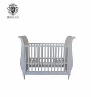 China Importers Bedding Set Wooden Designer Baby Cot Bed Design Prices BF09