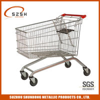 colorful personal shopping cart on wheels(European style)