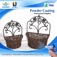 copper gold metallic powder coating
