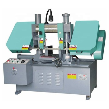 China Horizontal Double Column Hydraulic Automatic CNC Band Saw Machine  Vertical Band Saw Machine