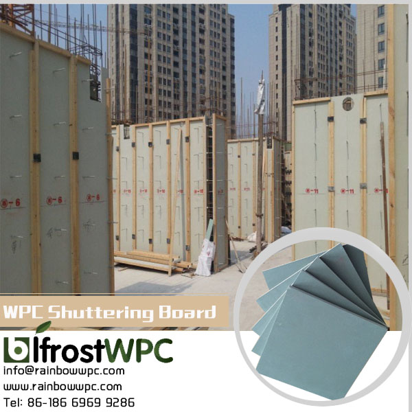 wpc foam board /recyclable building construction materials for shopping malls