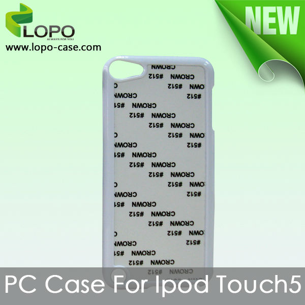 Sublimation hard PC case for IPOD Touch 5