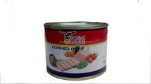 198g Canned corn beef exporters ground beef