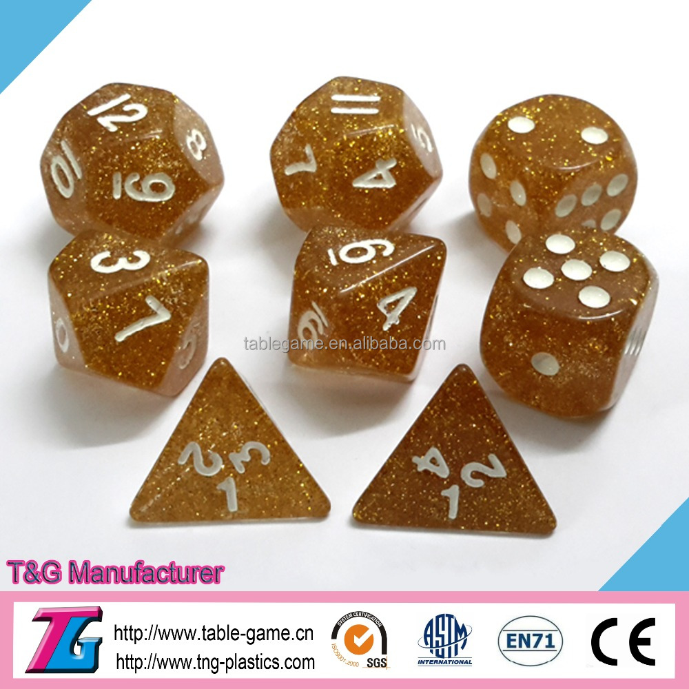 High quality rpg dice