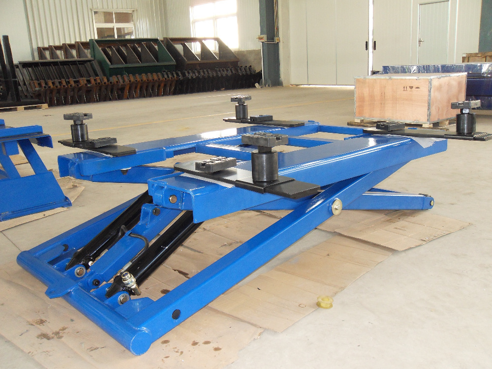 Scissor Type Portable Electric Car Lifts Price Hydraulic