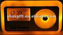 2012 new innovative design Sun rise Decompression alarm clock
