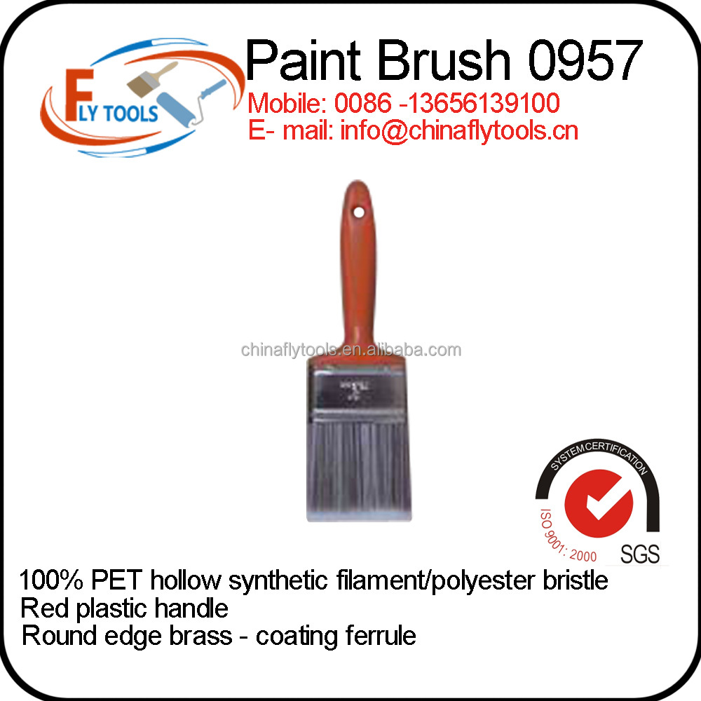 hot selling synthetic filament hollow paint brush