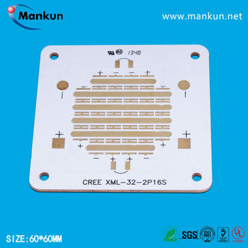 32 XML LED high power led chip copper printed circuit board