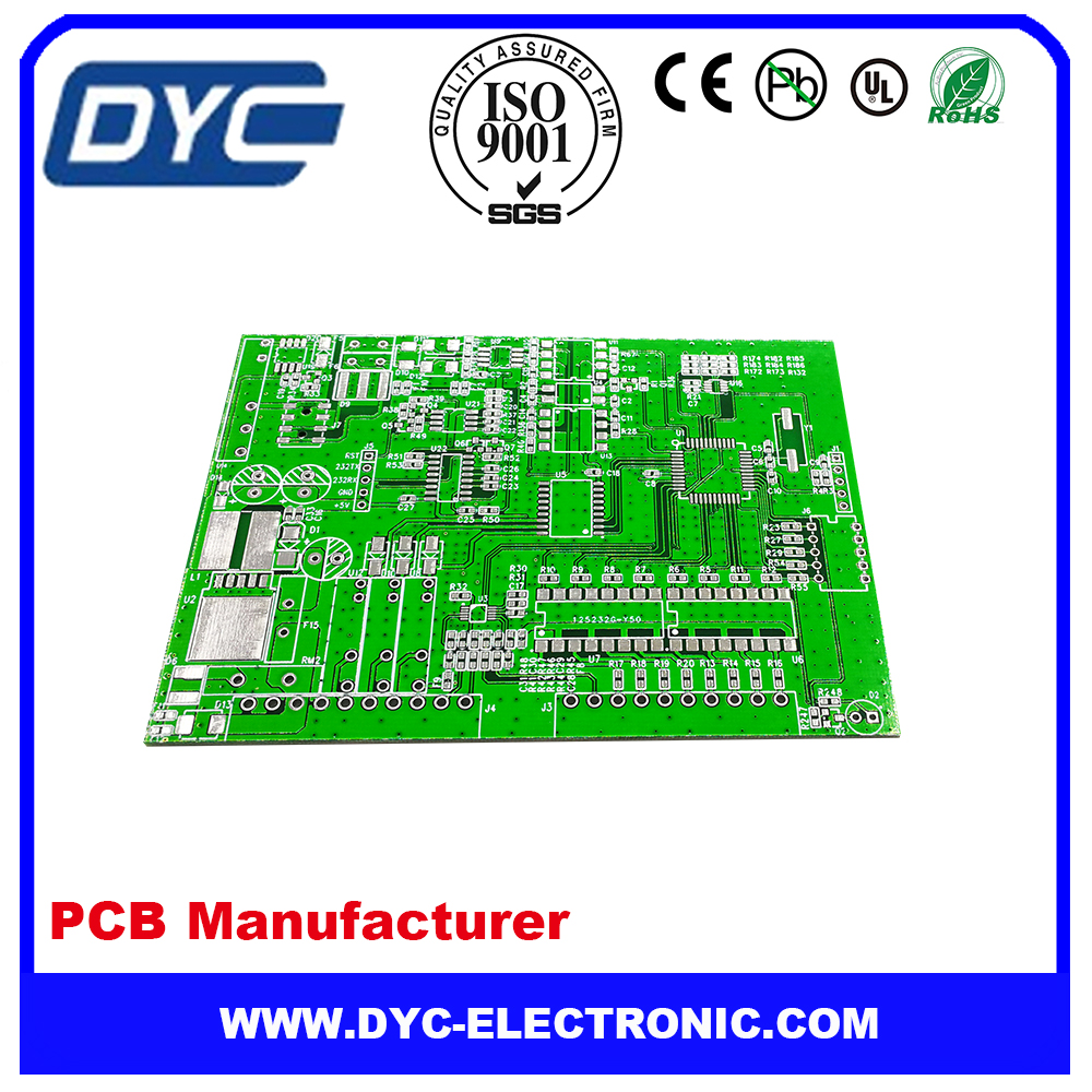 Electronic control Programmer PCBA Board and PCB Assembly manufacture