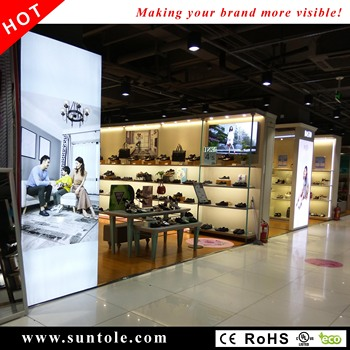 Frameless fabric light box WD10-1T 100mm thickness frameless text light box high bright stretched frame light box