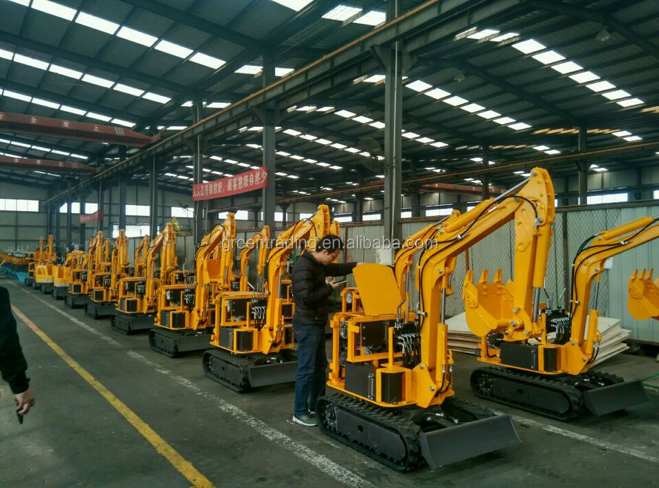 0.8t , 1.2t , 1.5t , 1.6t excavator earth moving equipment