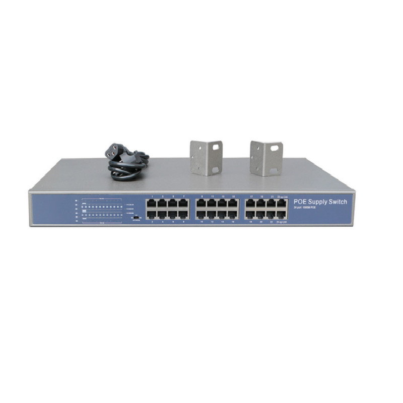 Cheap oem 24 port poe gigabit switch replace 3com switch 24 port
