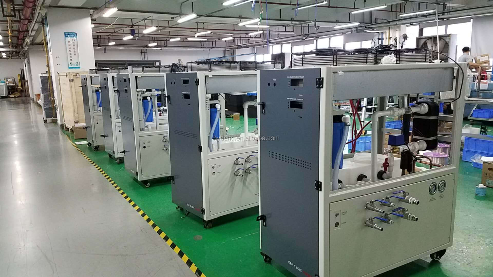 HAN'S Water cooled chiller for1000W fiber laser cutting machine ,fiber laser source