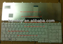 for toshiba satellite C650 L650 L655 WHITE Spanish SP laptop keyboard MP-09N16E0-6981 PK130CK2C19
