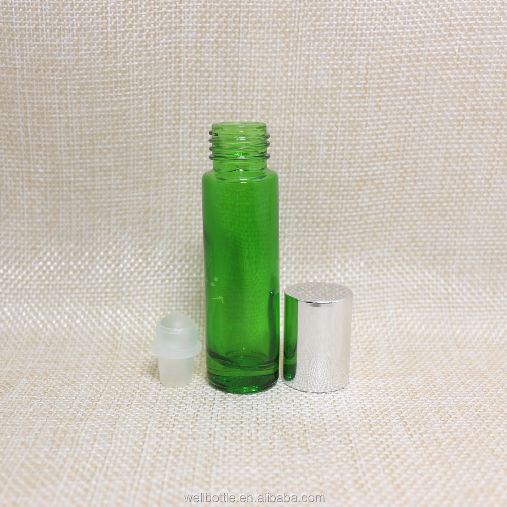 10ml glass clear green amber bottle for perfume,10ml glass bottle for essentialoil ,15ml glassbottle with kraft paper tube