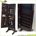 Guangdong furniture free standing mirror jewelry armoire