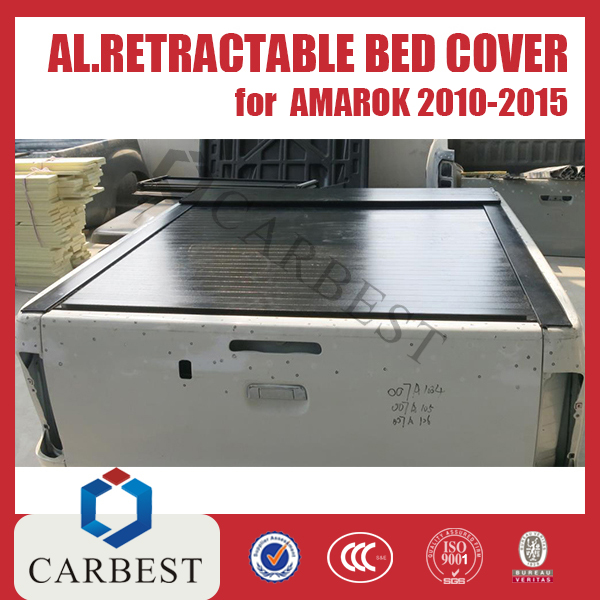 High Quality Aluminum Retractable Bed Cover(Manual/Electric)For AMAROK 2010-2015