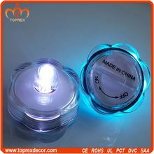 Manufactory grave led flickering candle light