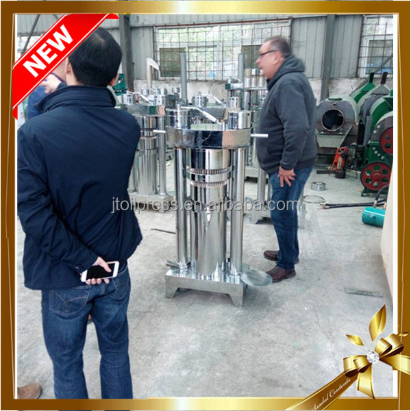 6YL series hydraulic stainless copra coconut oil press machine/olive avocado edible oil extraction machine manufacturer