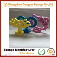 Decorations kitty/key/wing shaped electrocar body colorful clockwork spring foam and car stickers