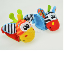Toys & hobbies Baby toys animal baby Wrist Rattle