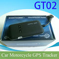 vehicle motorcycle gps car tracker with cut oil/power sos alarm function GT02
