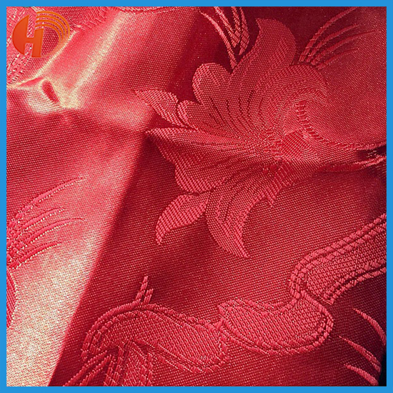 100 % polyester Jacquard curtain fabric