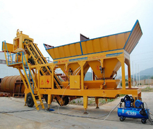 YHZS50 mobile concrete mixing plant pot equipment supplier