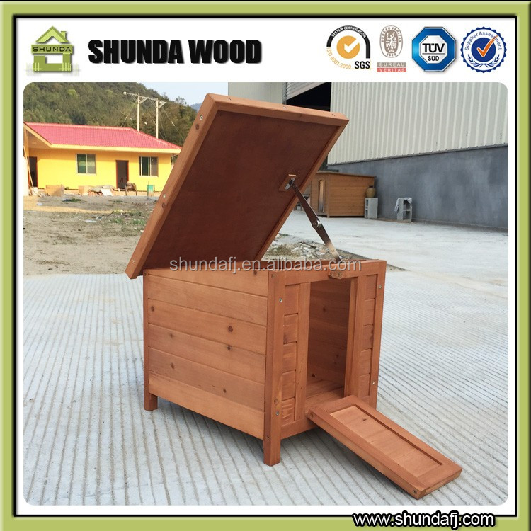 SDR013 wholesale small wooden rabbit house rabbit hutch