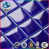 blue glass mosaic tile cutting machine glitter crystal glass mosaic tile swimming pool kitchen bathroom mosaic tile