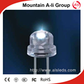 F5 5mm 3V straw hat led lamp through hole exposed led diodes