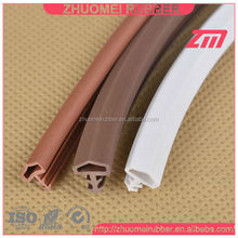 Wooden Door Seal Rubber Bulb Gasket