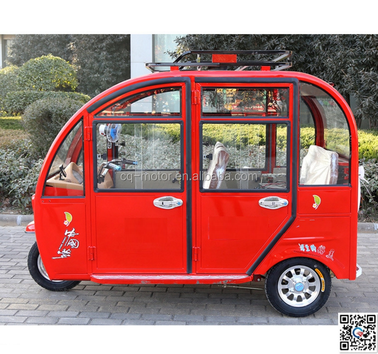 old people disable transportaion electric rickshaw tricycle for kids passenger
