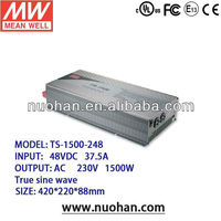 Meanwell 1500W True Sine Wave DC-AC Power inverter ac/inverter for home use/dc to ac inverter sale