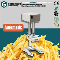 multifunctional vertical electric automatic french fry cutter/ fresh potato chips cutting machine