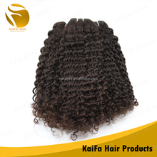 Good quality natural color can be dye factory price brazilian hair weave