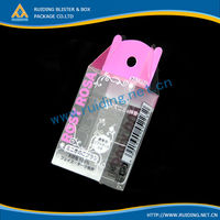 short lead time Plastic pvc packaging box for cell phone case