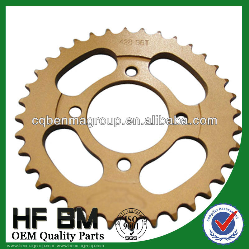 Motorcycle Front Sprockets 36T 1045 Steel, Super Quality Pinions for Motorbike Transmissions