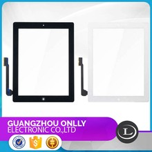 cheap price LCD display,Black and White Screen For iPad 4 Screen Replacment LCD with Touch Digitizer