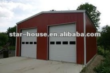 Mobile prefab home with steel structures for warehouse(certified by CE,B.V.,CSA &AS)