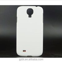 White Blank 3D sublimation Matte Case Cover Skin For Galaxy s4