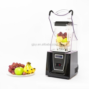Kitchen robot high speed electric frappe smoothie soymilk milk shake bubble tea turbo mixer coffee whisk 3hp king blender glass