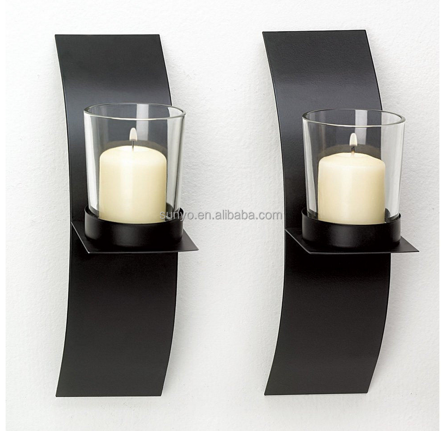 Hot Sale Crystal tealight glass tube candle holder Wholesale