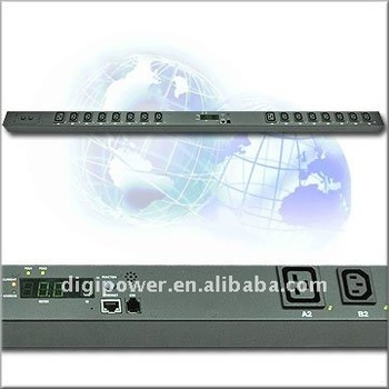 24 ports 208V 30 amp IP PDU- Switched/Monitored power distribution unit