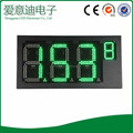 hotcake REGULAR green 4 digits 7 segment electronics scoreboard wireless gas station led price sign led open sign18 inch
